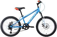Детский велосипед Black One Ice Girl D 2019 (20, голубой/белый/оранжевый) -