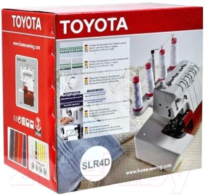 Оверлок Toyota Overlocker SLR4D