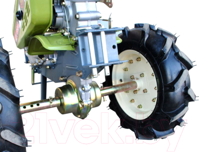 Мотоблок ZigZag KDT 610 L