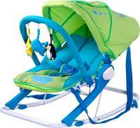 Детский шезлонг Caretero Aqua (зеленый) -