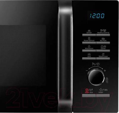 Микроволновая печь Samsung MG23H3115NK/BW - элементы управления