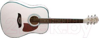 Акустическая гитара Oscar Schmidt OG2WH - общий вид