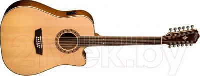 Электроакустическая гитара Washburn WD10SCE12 - общий вид