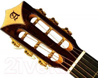 Акустическая гитара Alhambra 4P - головка грифа