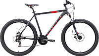 Велосипед STARK Hunter 27.2+ HD 2019 (20, черный/красный/серый) -