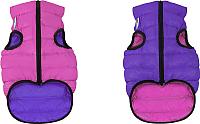 Куртка для животных AiryVest 1578 (M, розовый/фиолетовый) -