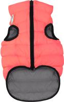 Куртка для животных AiryVest 1672 (S, коралловый/серый) -