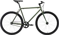 Велосипед Black One Urban 700 2019 (21, зеленый/черный) -