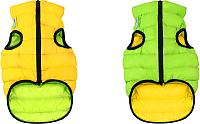 Куртка для животных AiryVest 1583 (S, салатовый/желтый) -