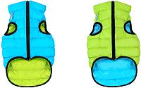 Куртка для животных AiryVest 1592 (XS, салатовый/голубой) -