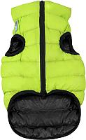 Куртка для животных AiryVest 1671 (XS, салатовый/черный) -