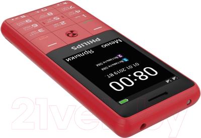 Мобильный телефон Philips Xenium E169 (красный)