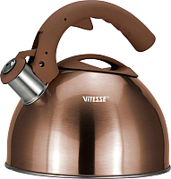 Чайник со свистком Vitesse VS-1124 New (медный) -