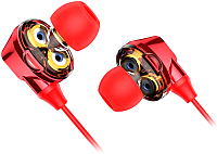 Наушники-гарнитура Baseus Encok S10 (красный) -