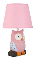 Прикроватная лампа Camelion Совенок KD-551 C14 / 12772 (розовый) -