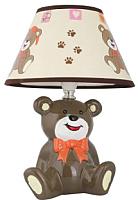 Прикроватная лампа Camelion Мишка KD-556 C10 / 12777 (коричневый) -