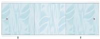 Экран для ванны МетаКам Монолит-М 1.68 (голубой) -
