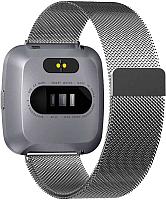 Умные часы NO.1 G12 (серебристый, стальной ремешок) -