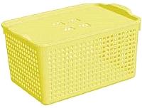 Корзина Violet Лофт / 644130 (5.3л, лимон) -