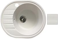 Мойка кухонная БелЭворс New Lux R (белый) -