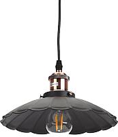 Потолочный светильник ЭРА PL3 BK/RC / Б0037435 -