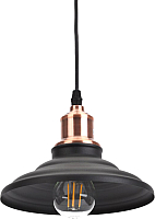 Потолочный светильник ЭРА PL4 BK/RC / Б0037438 -
