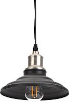 Потолочный светильник ЭРА PL4 BK/BN / Б0037439 -
