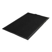Коврик грязезащитный Kovroff Стандарт ребристый 80x120 / 20901 (черный) -