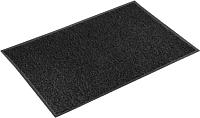 Коврик грязезащитный Kovroff Стандарт ребристый 90x150 / 21001 (черный) -