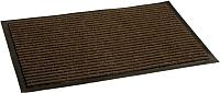 Коврик грязезащитный Kovroff Стандарт ребристый 90x150 / 21003 (коричневый) -