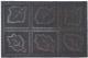 Коврик защитный No Brand Листья шипованный / 400-033 -