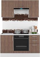 Готовая кухня Горизонт Мебель Европа 1.5 (морское дерево) -