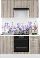 Готовая кухня Горизонт Мебель Европа 1.5 (ясень теормина) -