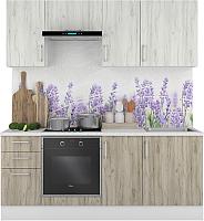 Готовая кухня Горизонт Мебель Европа 2.0 (белый/серый крафт) -
