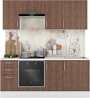 Готовая кухня Горизонт Мебель Европа 2.0 (морское дерево) -
