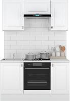 Готовая кухня Горизонт Мебель Ева 1.5 (белый софт) -