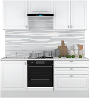 Готовая кухня Горизонт Мебель Ева 2.0 (белый софт) -