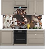 Готовая кухня Горизонт Мебель Ева 2.0 (мокко софт) -