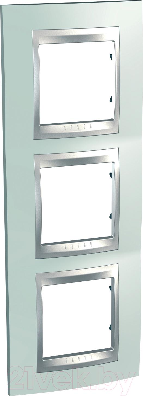 Купить Рамка для выключателя Schneider Electric, Unica MGU66.006V.094, Россия, сплав поликарбоната и ASA-пластика, Unica Top (Schneider Electric)
