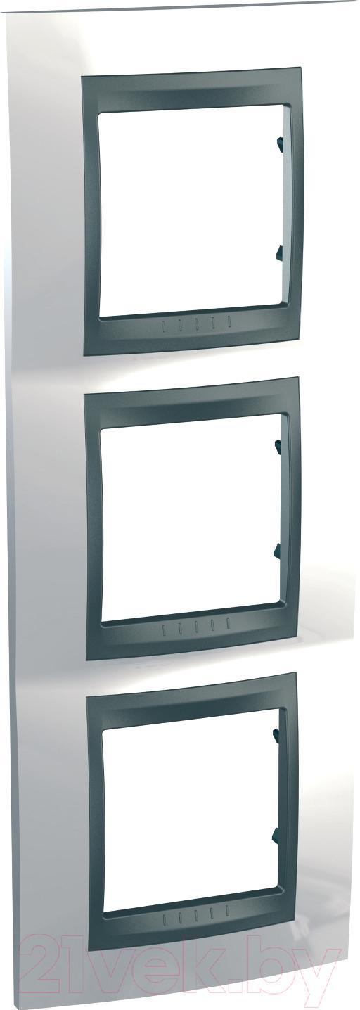 Купить Рамка для выключателя Schneider Electric, Unica MGU66.006V.292, Россия, сплав поликарбоната и ASA-пластика, Unica Top (Schneider Electric)