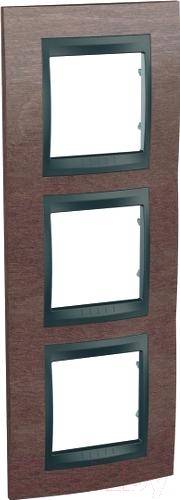 Купить Рамка для выключателя Schneider Electric, Unica MGU66.006V.2M4, Россия, сплав поликарбоната и ASA-пластика, Unica Top (Schneider Electric)