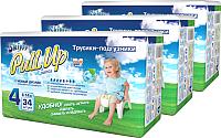Подгузники-трусики Skippy Pull-Up 4 Box (102шт) -