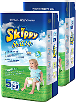 Подгузники-трусики Skippy Pull-Up 5 Box (96шт) -