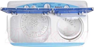 Стиральная машина Saturn ST-WK7618 (синий)