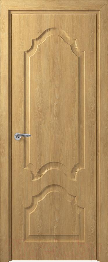 Купить Дверь межкомнатная Юркас, Deform Классика Тулуза ДГ 60x200 (дуб шале натуральный), Беларусь