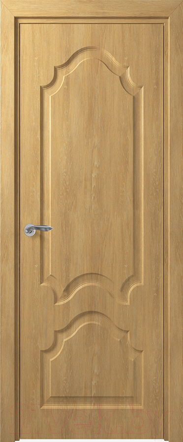Купить Дверь межкомнатная Юркас, Deform Классика Тулуза ДГ 80x200 (дуб шале натуральный), Беларусь
