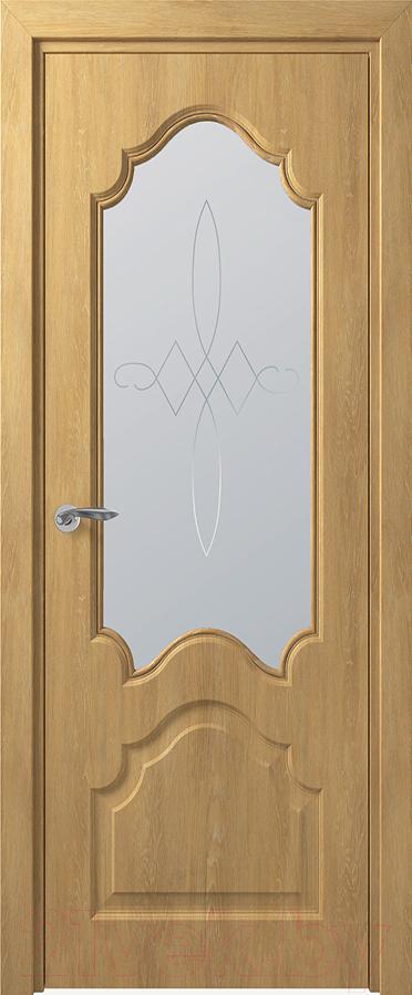 Купить Дверь межкомнатная Юркас, Deform Классика Тулуза ДО 70x200 (дуб шале натуральный), Беларусь