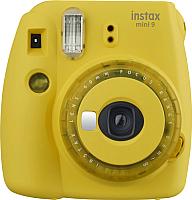 Фотоаппарат с мгновенной печатью Fujifilm Instax Mini 9 (желтый) -