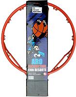 Баскетбольное кольцо DFC DFC R2 без пружин (оранжевый/красный) -