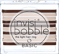 Набор резинок для волос Invisibobble Basic Mocca & Cream -
